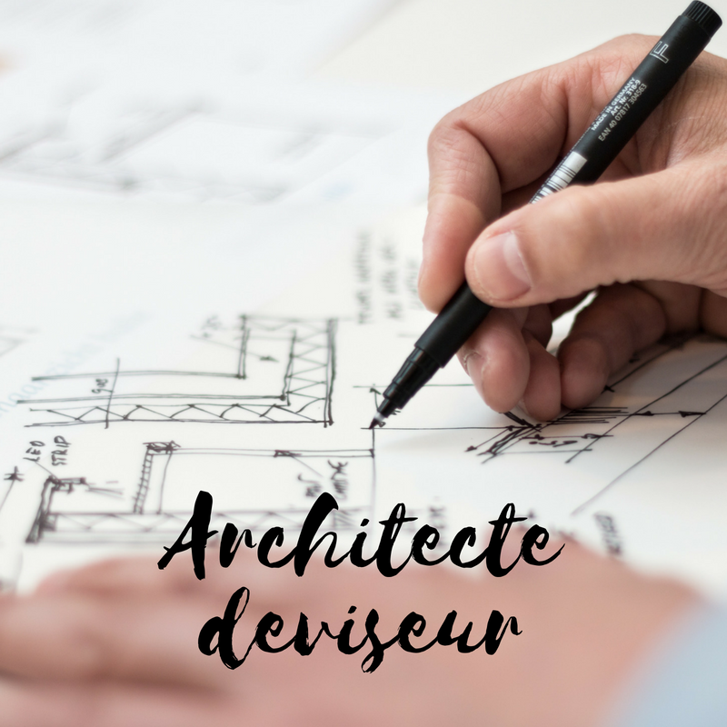 Job architecte deviseur